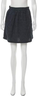 Steven Alan Printed Mini Skirt