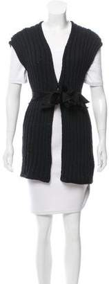 Brunello Cucinelli Belted Knit Vest