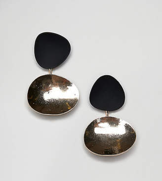 Reclaimed Vintage inspired front and back earrings