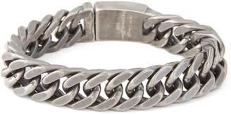Dell'arte By Jean Claude Gunmetal-Tone Chain Bracelet