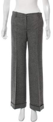 Joseph Herringbone Wool Pants