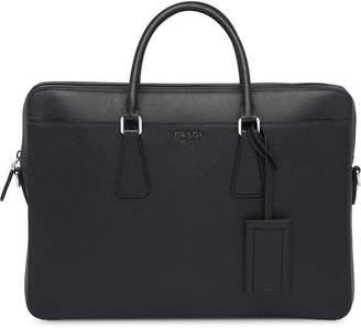 Prada Saffiano Cuir leather briefcase