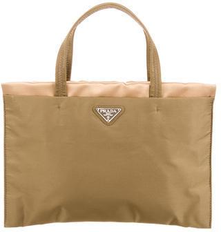 pradaPrada Tessuto & Raso Handle Bag