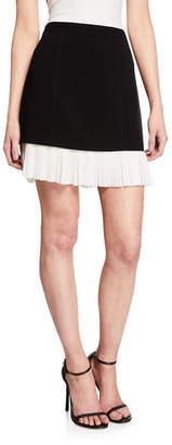 Cinq à Sept Catriona Pleated Hem Skirt