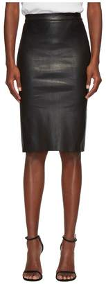 LAMARQUE Avana Essential Stretch Leather Tube Skirt Women's Skirt
