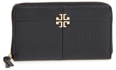 Tory Burch Women's Tory Burch Ivy Leather Continental Wallet - Brown