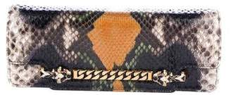 Gucci Python Tigrette Evening Bag