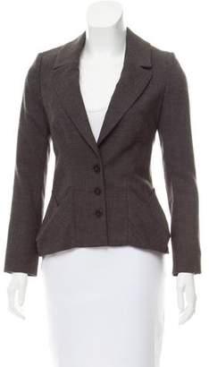 AllSaints Notch-Lapel Wool Blazer