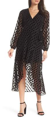 Ali & Jay Something You Call Love Wrap Dress