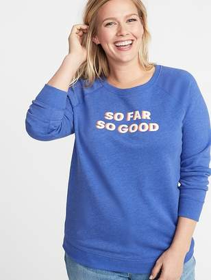 0df402bbb6e Old Navy Relaxed Plus-Size Graphic Sweatshirt