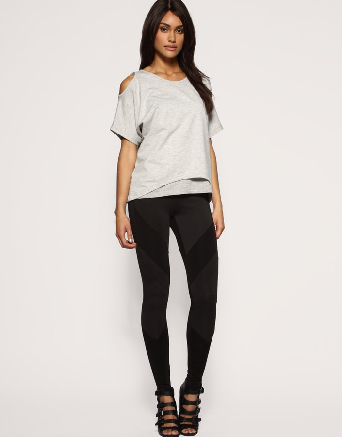 ASOS Neoprene Panelled Leggings