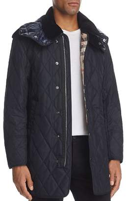 Burberry Northumberland Quilted Hooded Coat