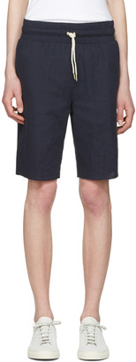 Aime Leon Dore Navy Boxer Shorts $135 thestylecure.com
