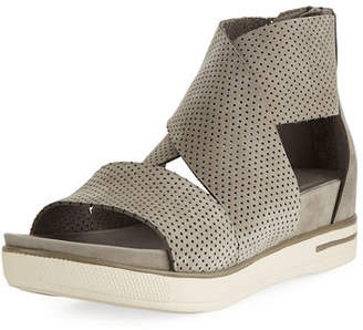 Eileen Fisher Sport Perforated Sneaker Sandals