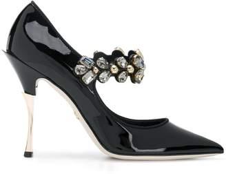 Dolce & Gabbana embellished Mary Jane heels