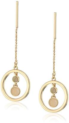 Danielle Nicole Mania Howlite Drop Earrings