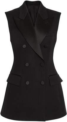 Burberry sleeveless double-breasted jacket