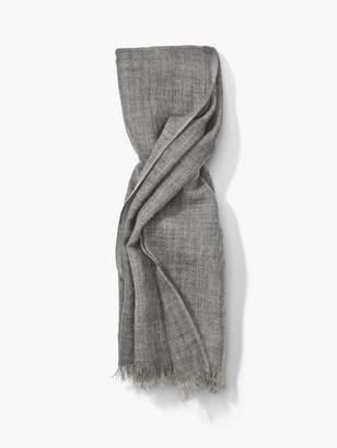 John Varvatos Wool Striated Scarf