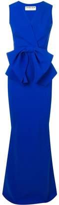 Chiara Boni Le Petite Robe Di bow detail dress
