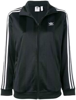 adidas striped track jacket