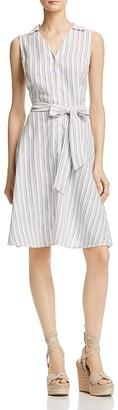 AQUA Stripe Shirt Dress - 100% Exclusive $88 thestylecure.com