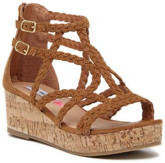 Steve Madden Janna Wedge Sandal (Little Kid & Big Kid)