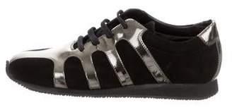Walter Steiger Metallic Low-Top Sneakers