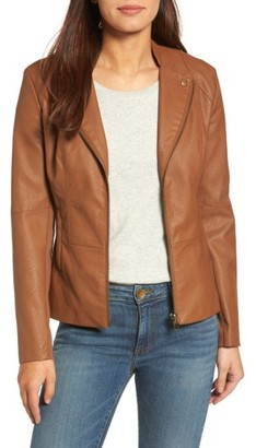 Women's Kut From The Kloth Aniya Faux Leather Jacket $98 thestylecure.com