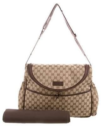 Gucci GG Diaper Bag