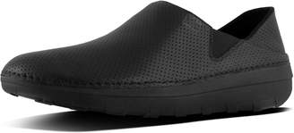 FitFlop Superloafer Men's Perforated Leather Loafers