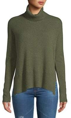Lord & Taylor Boxy Ribbed Cashmere Sweater