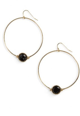 Women's Bp. Circle Stone Earrings $12 thestylecure.com