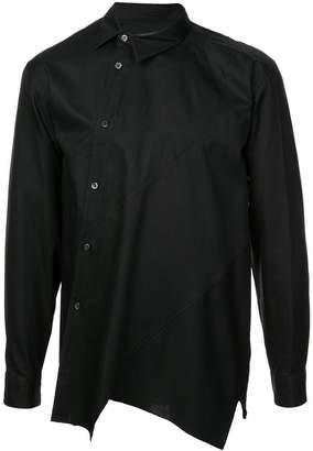 Comme des Garcons asymmetric front shirt