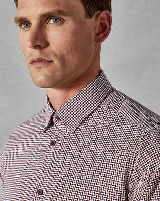 Ted Baker REDBRIK Geo print cotton shirt
