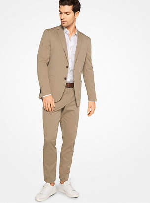 Michael Kors Slim-Fit Stretch-Cotton Blazer