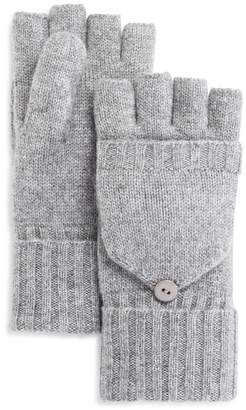 C by Bloomingdale's Pop Top Cashmere Mittens - 100% Exclusive