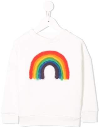 Molo rainbow print sweatshirt