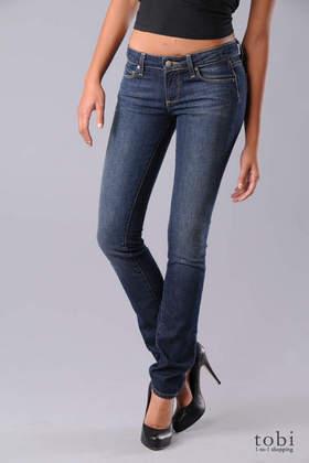 Paige Premium Denim Skyline Peg Skinny Jeans in Lakeside