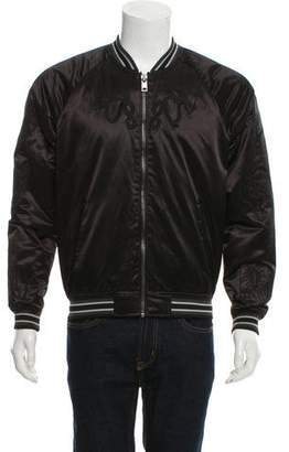 Diesel Embroidered Bomber Jacket