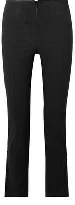 Isabel Marant Jumpery Stretch Cotton-blend Skinny Pants - Black