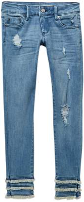 Tractr 5-Pocket Basic Ankle Crop Jeans (Big Girls)
