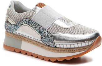 GIOSEPPO Mixed Material Platform Sneaker - Women's