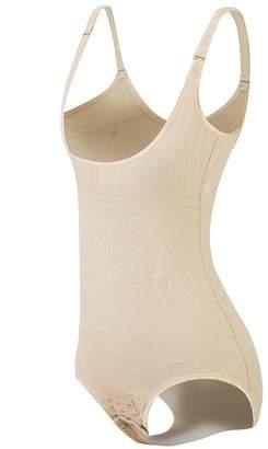 b8f74d3a0 KSKshape Seamless Body Shaper Open Bust Shapewear Firm Control Bodysuit for  Women