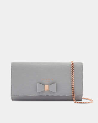 Ted Baker ABRIANA Bow detail matinee purse with strap