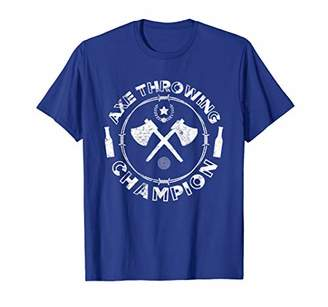 Axe Throwing Champion TShirt Game League Trophy T Shirt Gift
