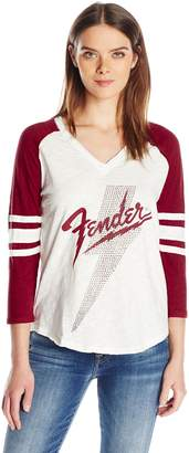 Lucky Brand Women's Fender Studded Tee