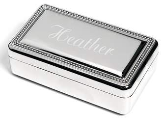 Cathy's Concepts Cathys Concepts Personalized Sterling Jewelry Box