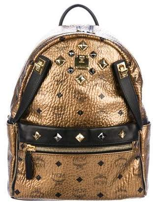 MCM Metallic Visetos Backpack
