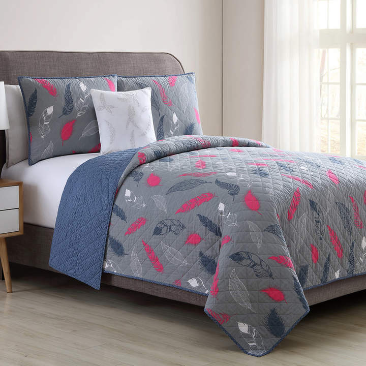 Vcny VCNY Feathers Quilt