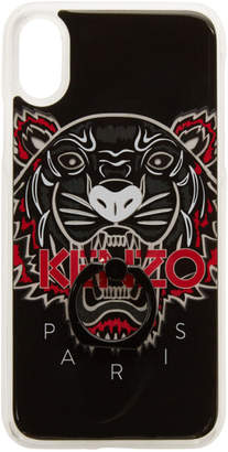 Kenzo Black Limited Edition Tiger Ring iPhone X Case